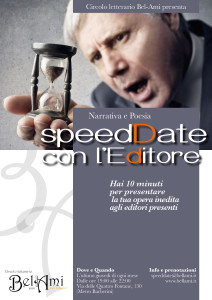 SpeedDate con l'Editore
