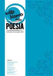 Notte bianca della Poesia 2015