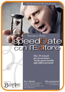 Speed date con l'Editore