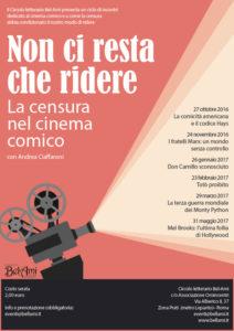 Nuova locandina Cinema