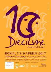 DieciLune - Festival dell'Autore 2017